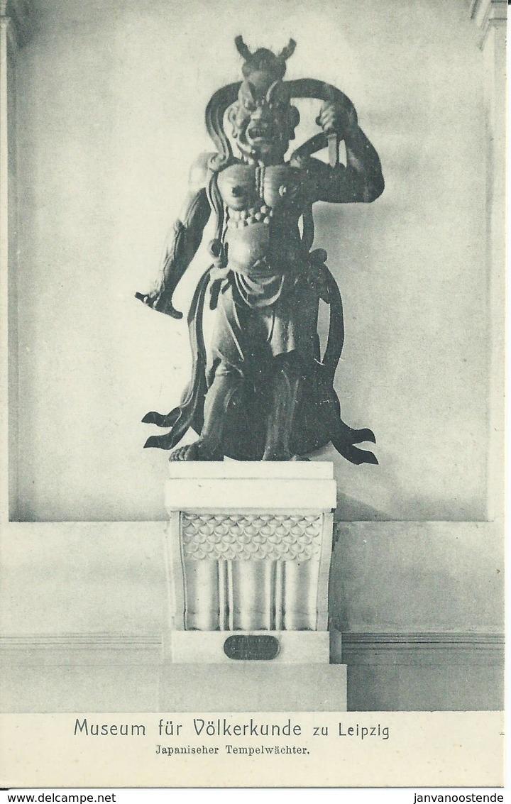 2341. Museum Für Volkerkunde Zu Leipzig - Japanischer Tempelwäch - Museos