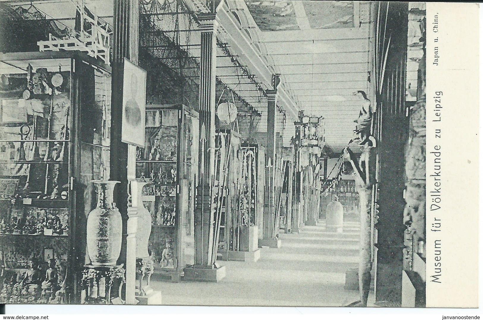 2346. Museum Für Volkerkunde Zu Leipzig - Japan U. China - Museos