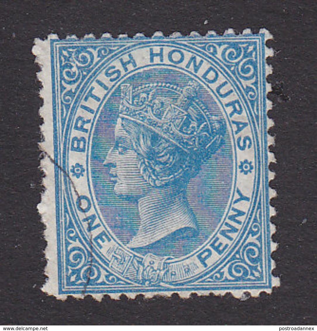 British Honduras, Scott #4, Used, Victoria, Issued 1872 - British Honduras (...-1970)