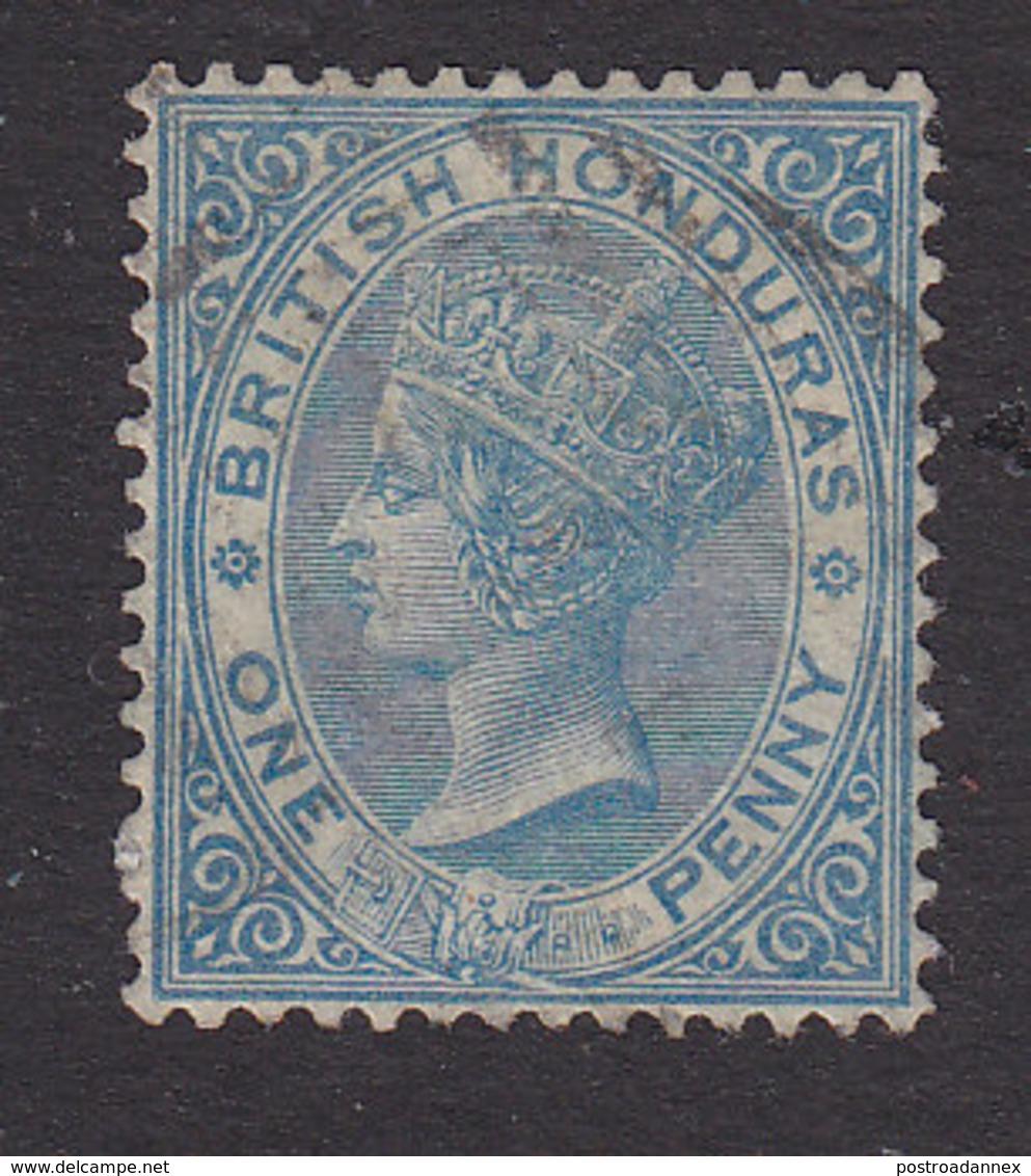 British Honduras, Scott #8, Used, Victoria, Issued 1877 - British Honduras (...-1970)