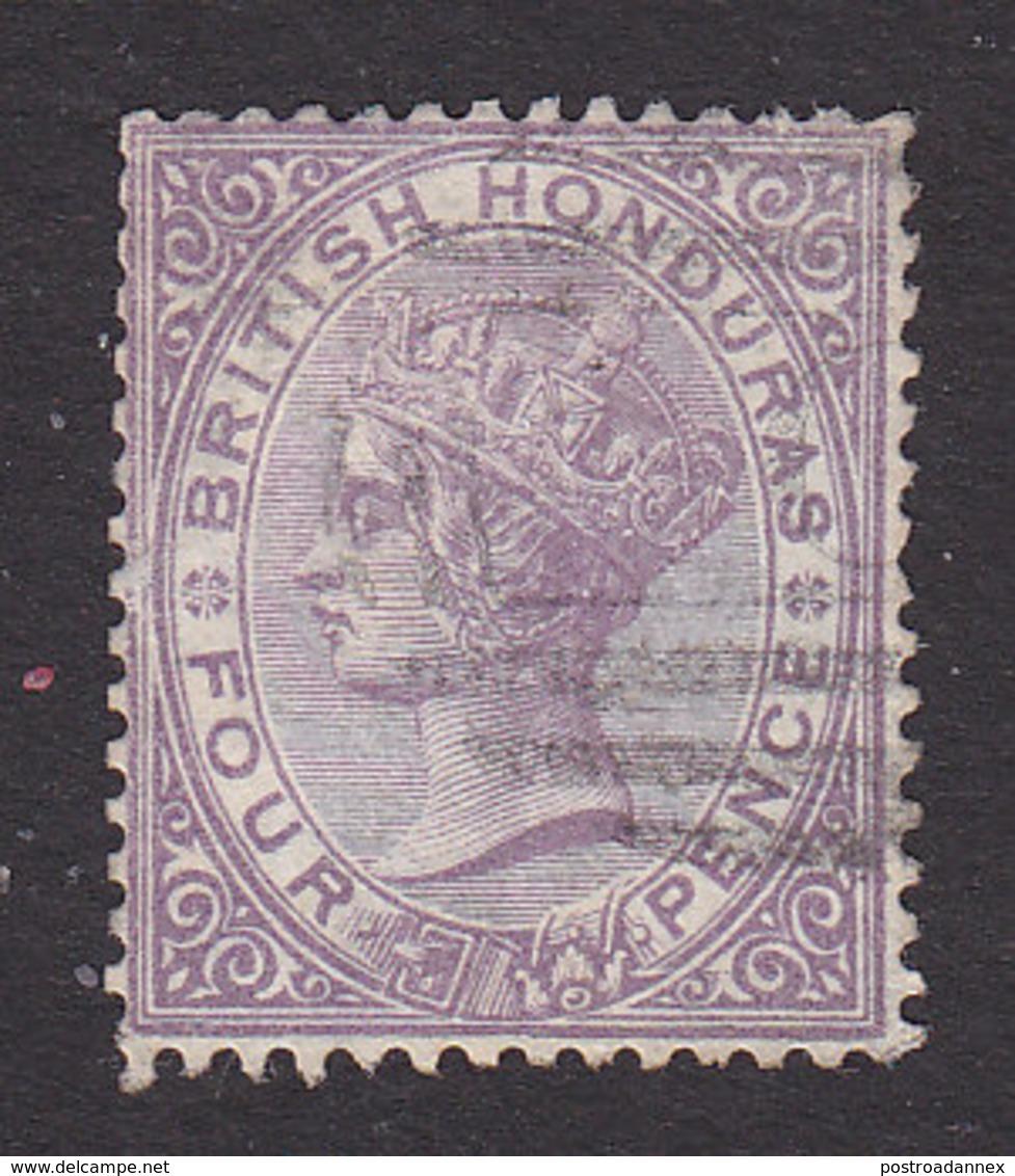 British Honduras, Scott #10, Used, Victoria, Issued 1877 - British Honduras (...-1970)