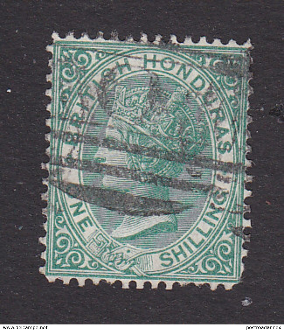 British Honduras, Scott #12, Used, Victoria, Issued 1877 - British Honduras (...-1970)