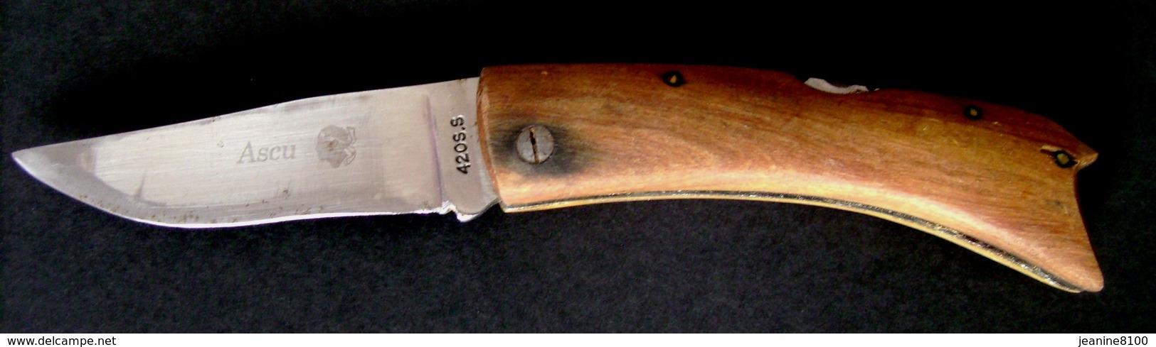 Ancien Couteau  Corse - Ascu - Armes Blanches