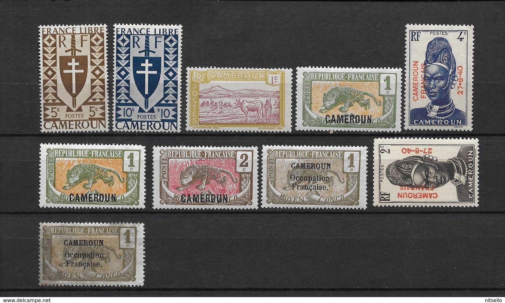 LOTE 1711  ///  CAMERUN - Camerún (1915-1959)