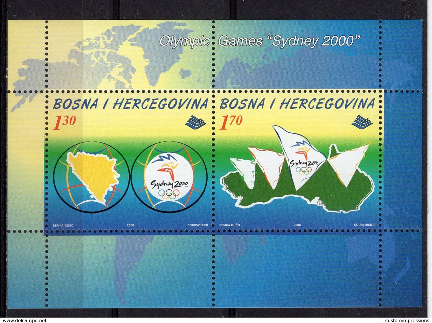 BOSNIA MOSLEM -  SYDNEY 2000 OLYMPIC GAMES  O505 - Sommer 2000: Sydney - Paralympics
