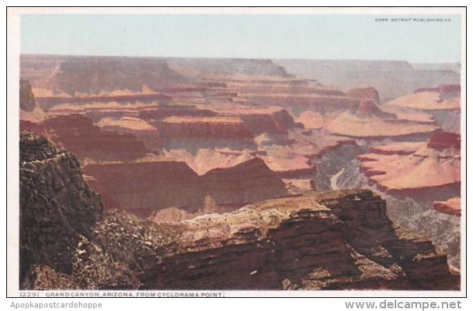 Arizona Grand Canyon From Cyclorama Point Detroit Publishing
