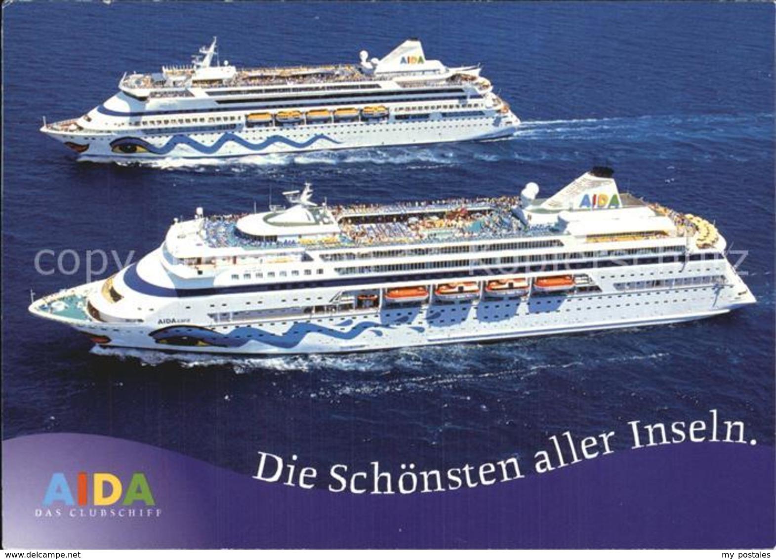 72525120 Schiffe Ships Navires AIDA  Schiffe - Schiffe
