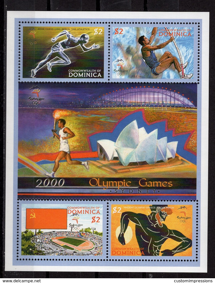DOMINICA -  SYDNEY 2000 OLYMPIC GAMES  O520 - Sommer 2000: Sydney - Paralympics