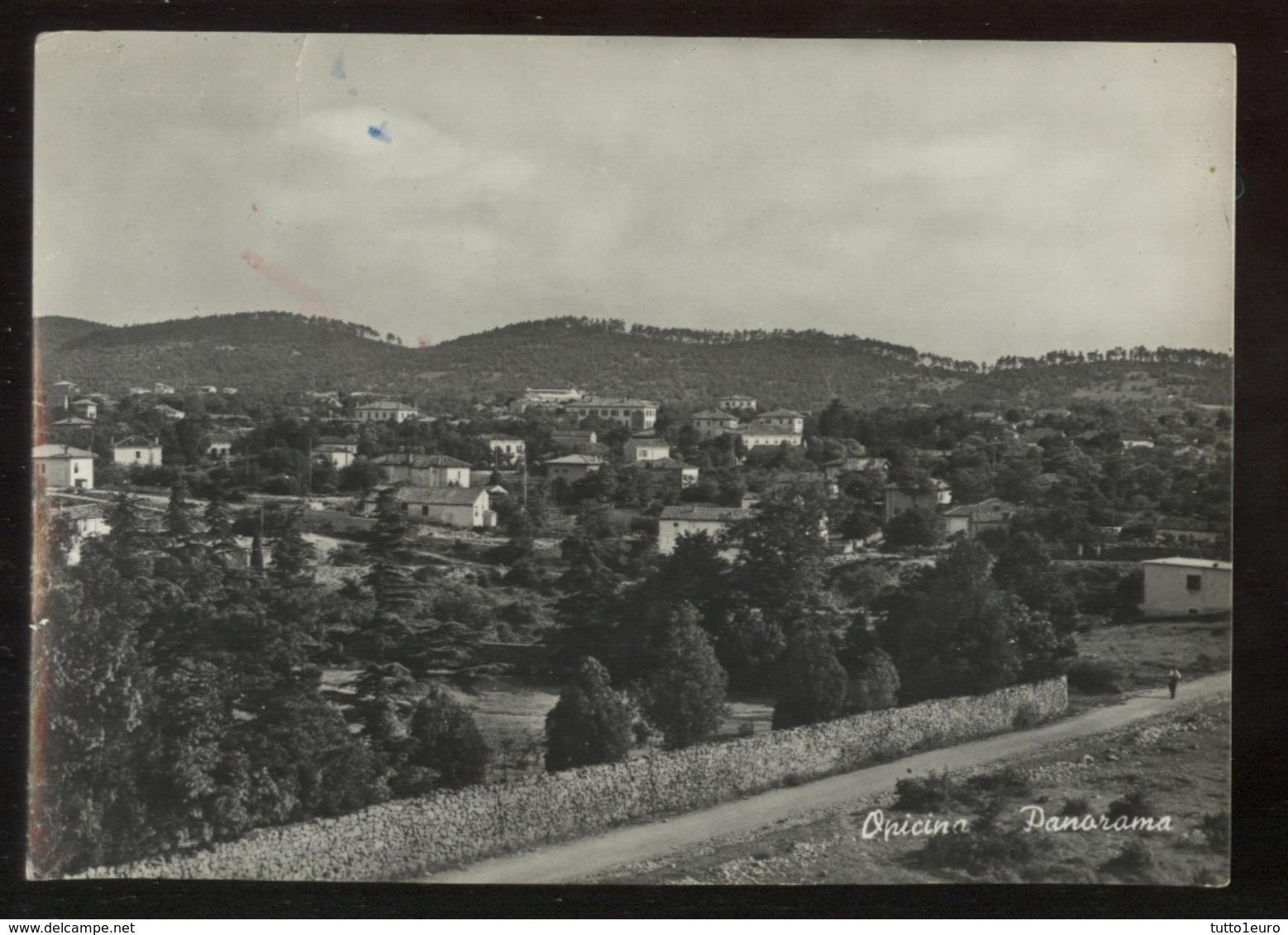OPICINA - TRIESTE - 1955 - PANORAMA - Trieste