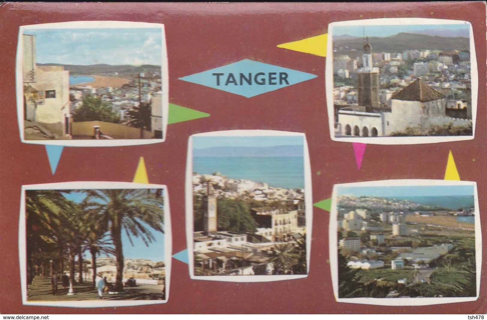 MAROC---TANGER---multivues--voir 2 Scans - Tanger