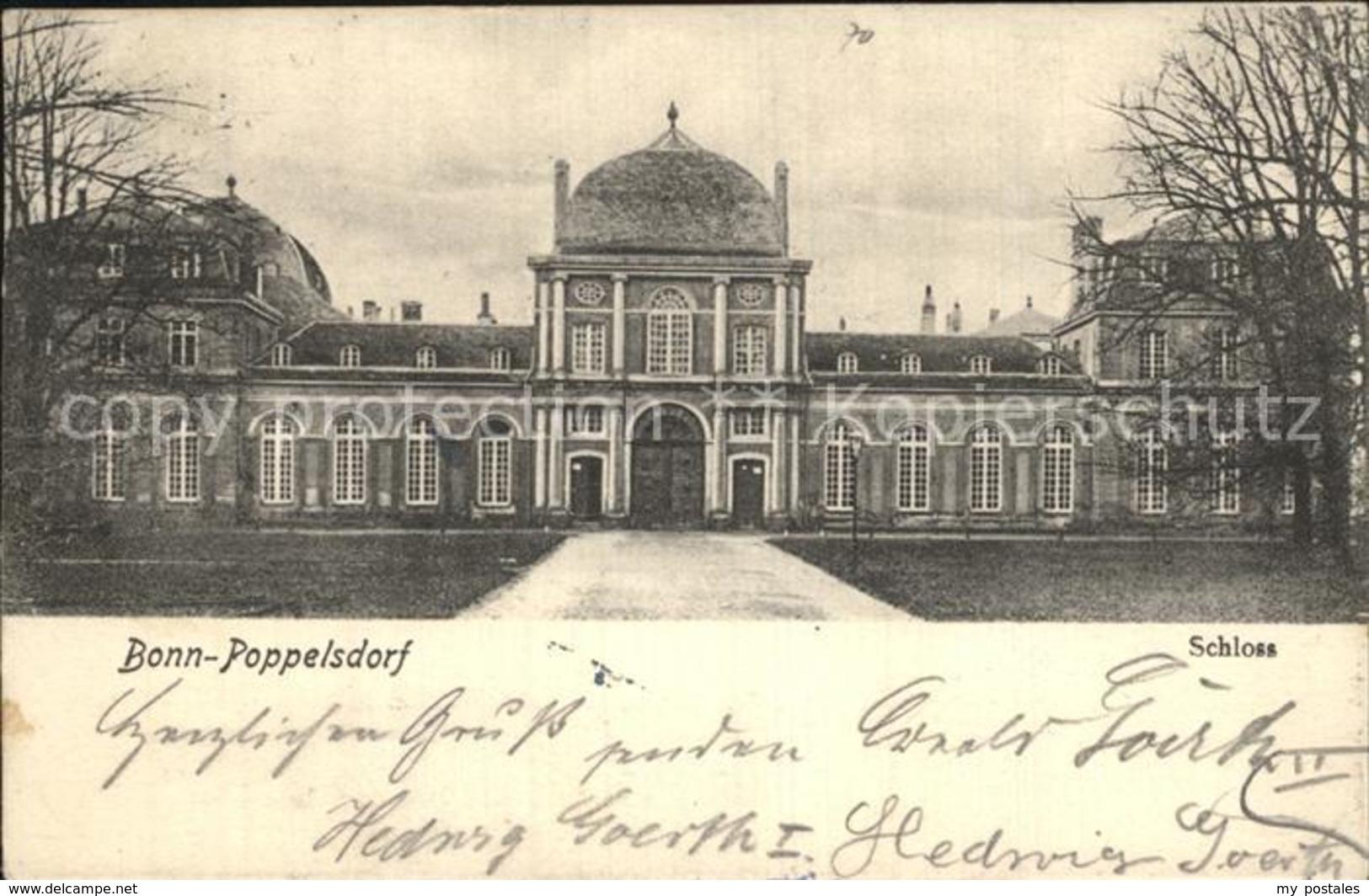 42601008 Poppelsdorf Schloss Bonn - Bonn