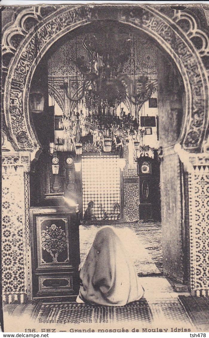 MAROC---FEZ--grande Mosquée De Moulay Idriss--voir 2 Scans - Fez (Fès)