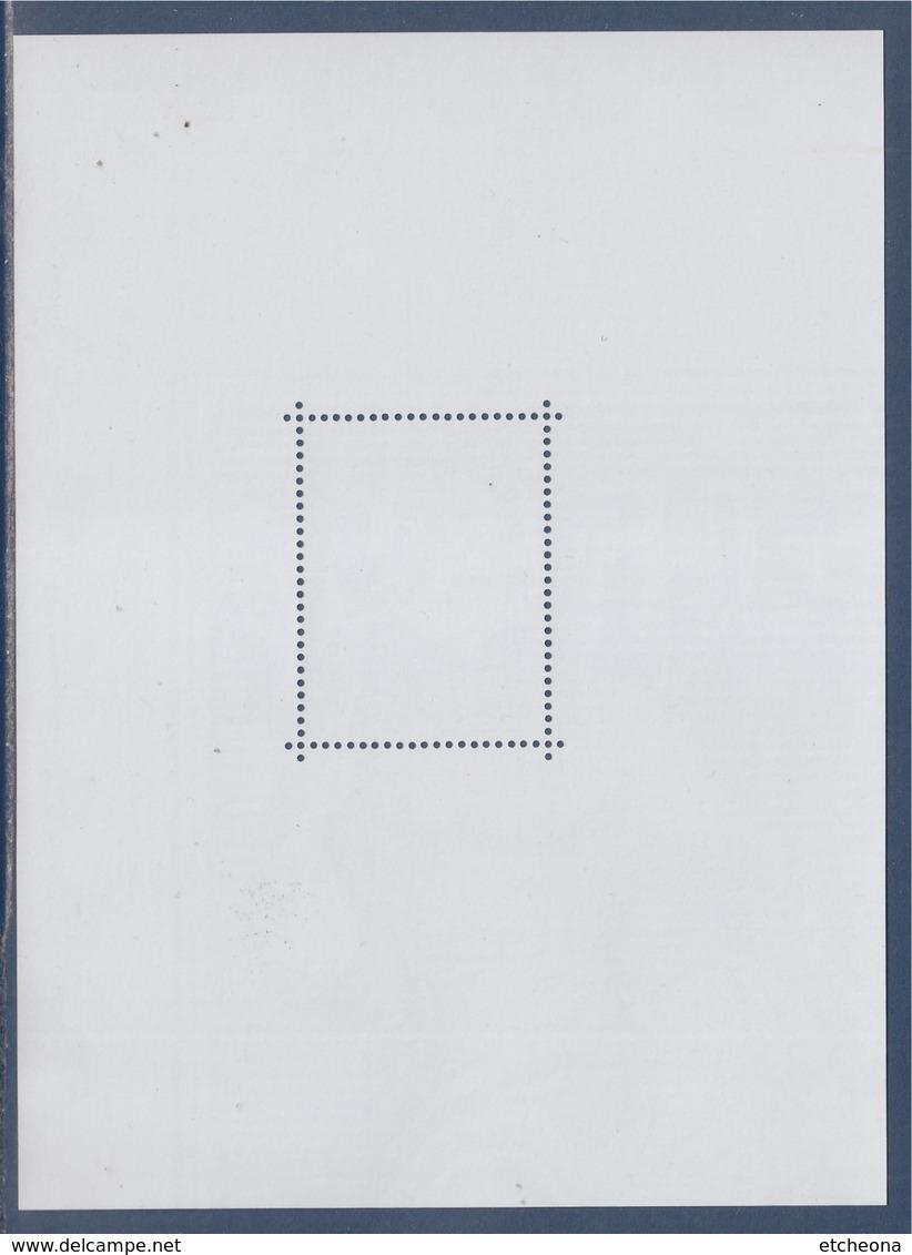 = Bloc Gommé Neuf Type Sage Par Phil@poste Sans Valeur Faciale Soit 1/4 Timbre Haut Droit Type Du 68 - Blocs & Feuillets