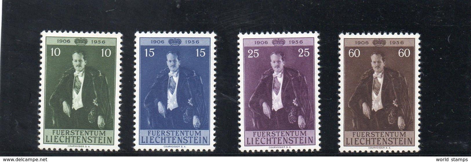 LIECHTENSTEIN 1956 ** - Liechtenstein