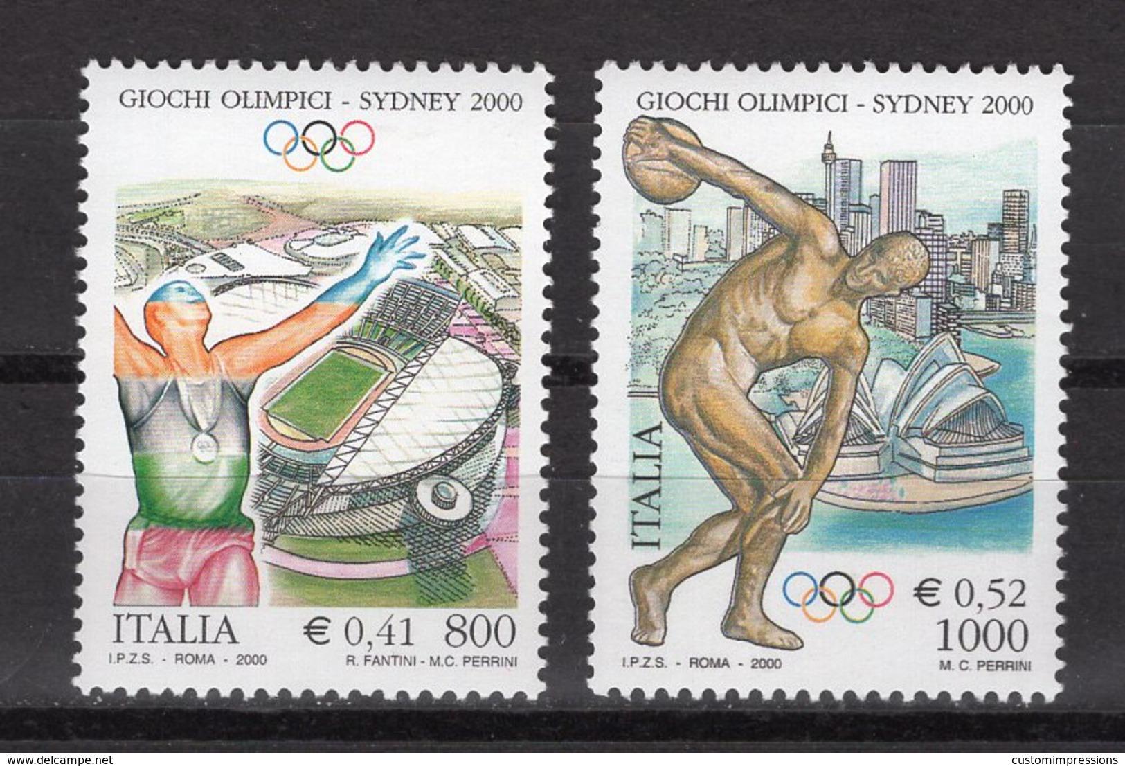 ITALY -  SYDNEY 2000 OLYMPIC GAMES  O541 - Sommer 2000: Sydney - Paralympics