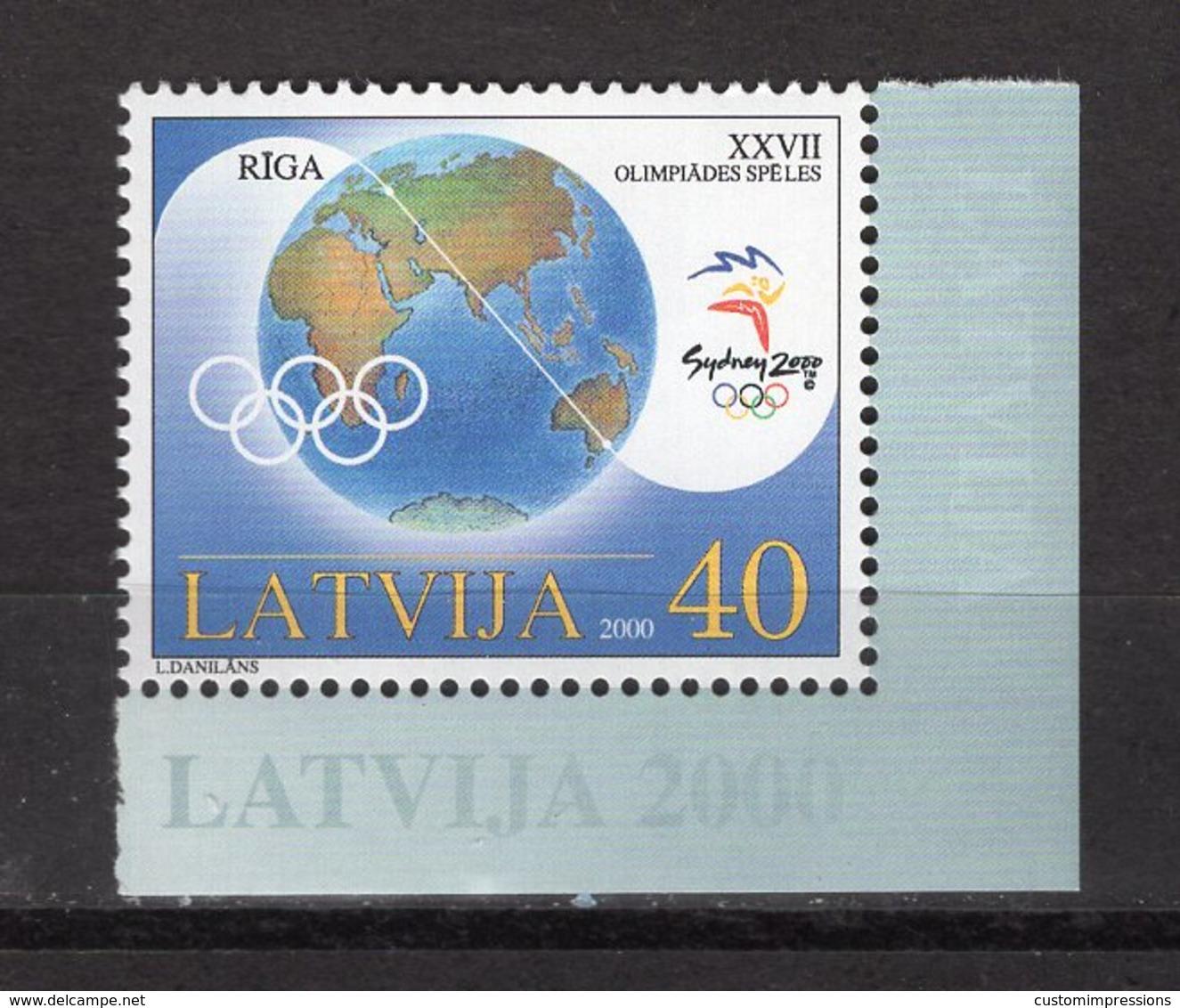 LATVIA -  SYDNEY 2000 OLYMPIC GAMES  O550 - Sommer 2000: Sydney - Paralympics