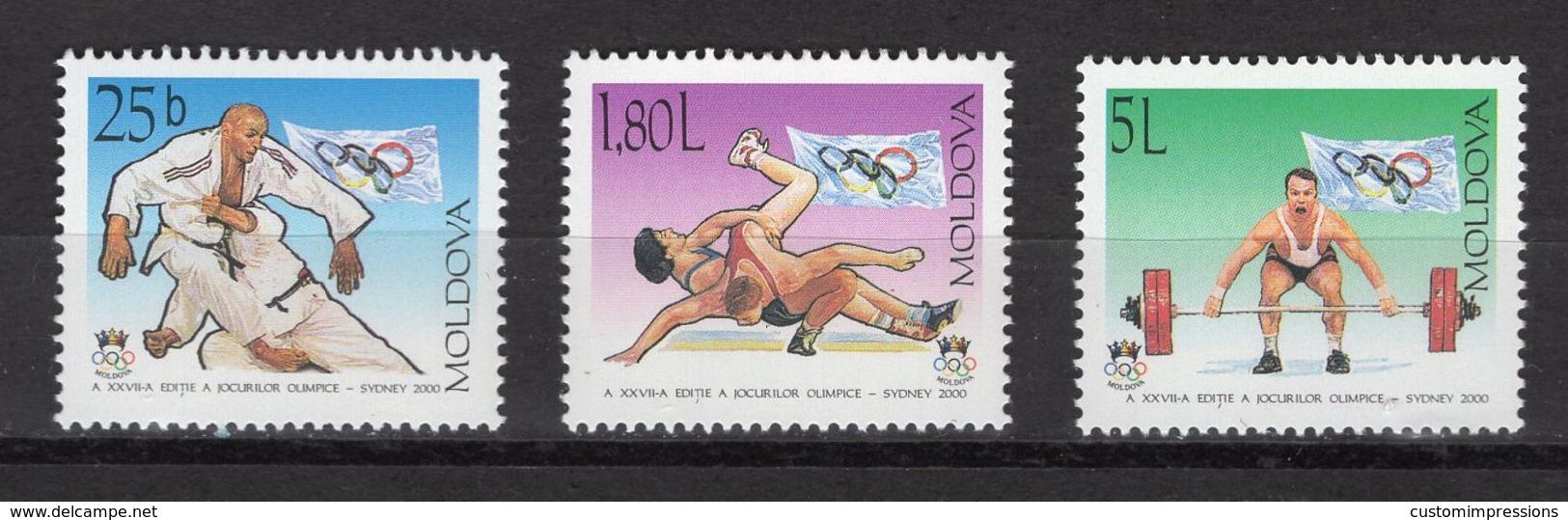 MOLDOVIA -  SYDNEY 2000 OLYMPIC GAMES  O566 - Sommer 2000: Sydney - Paralympics