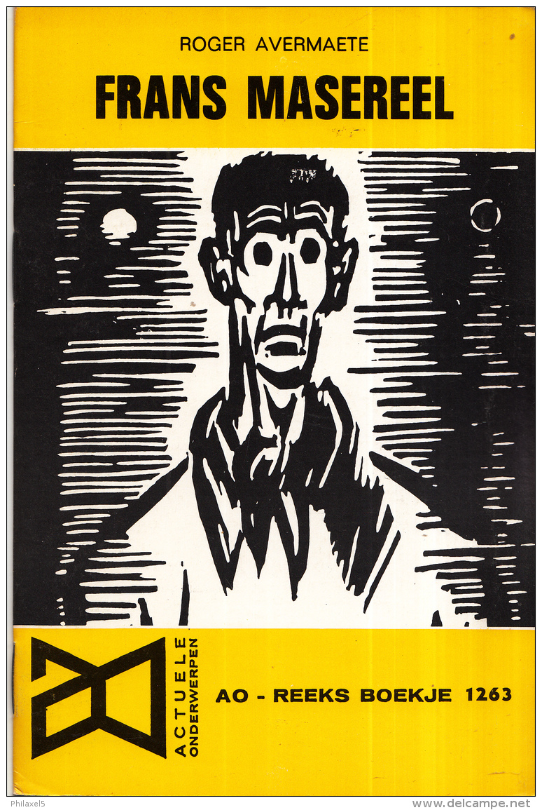 AO-reeks Boekje 1263 - Roger Avermaete: Frans Masereel - 16-05-1969 - Geschiedenis