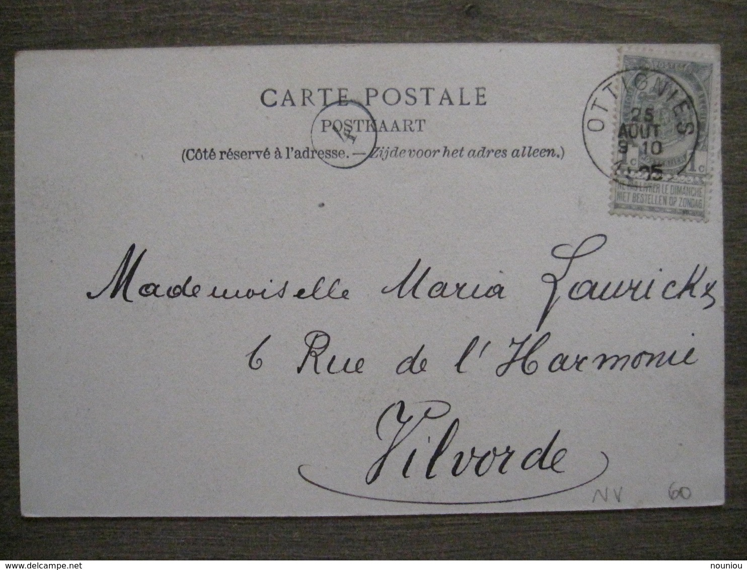 Cpa Limal (Wavre) - La Papeterie - Imp. Pap. Charlier-Niset - 1905 - Wavre