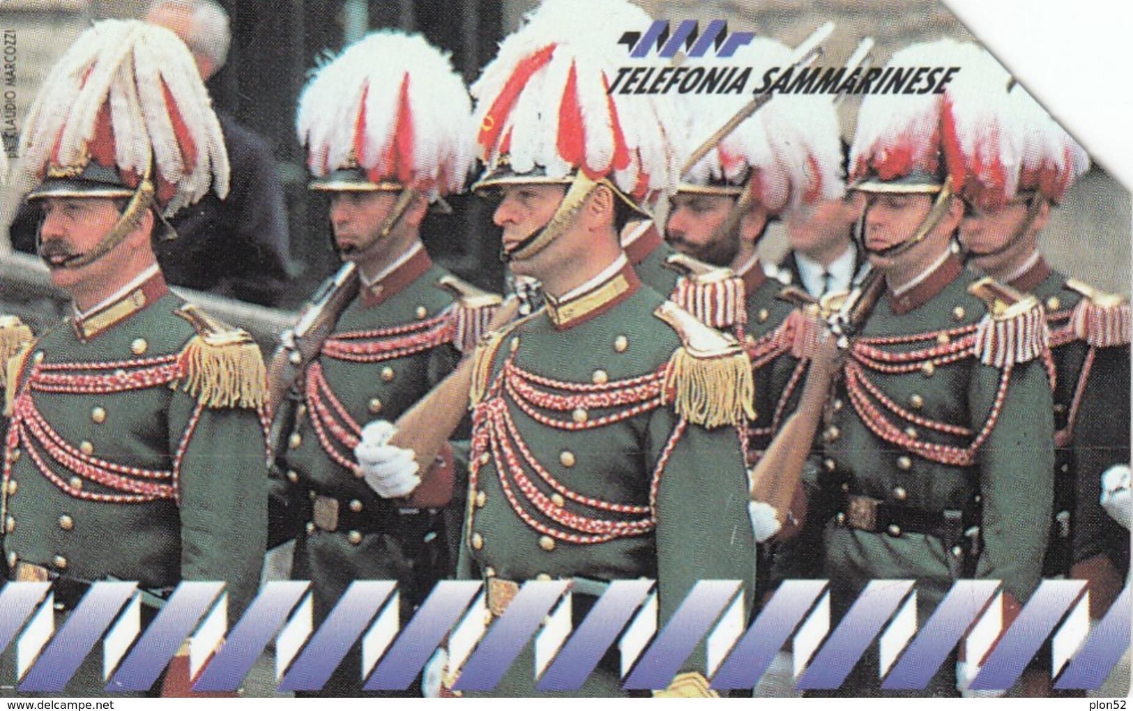 11930 - SCHEDA TELEFONICA DA L.18000 -1994 - S.MARINO - USATA - San Marino