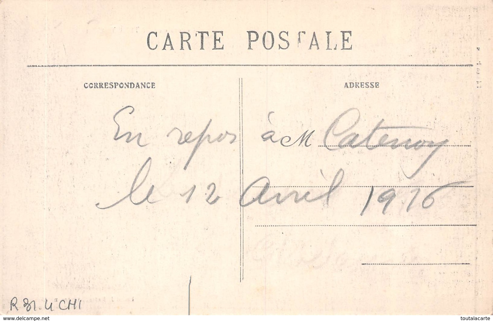 CPA 60 VUE GENERALE DE CATENOY - Autres Communes