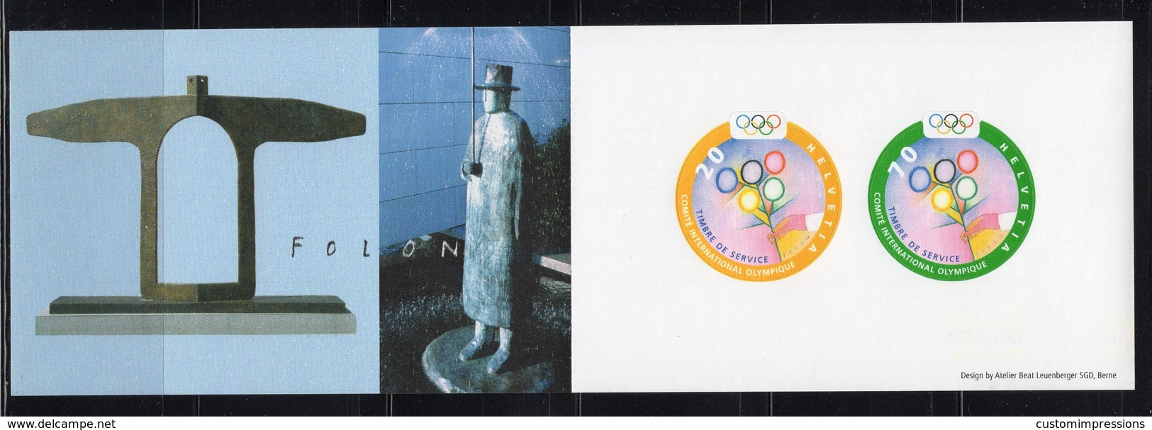 SWITZERLAND  -  SYDNEY 2000 OLYMPIC GAMES  O600 - Sommer 2000: Sydney - Paralympics