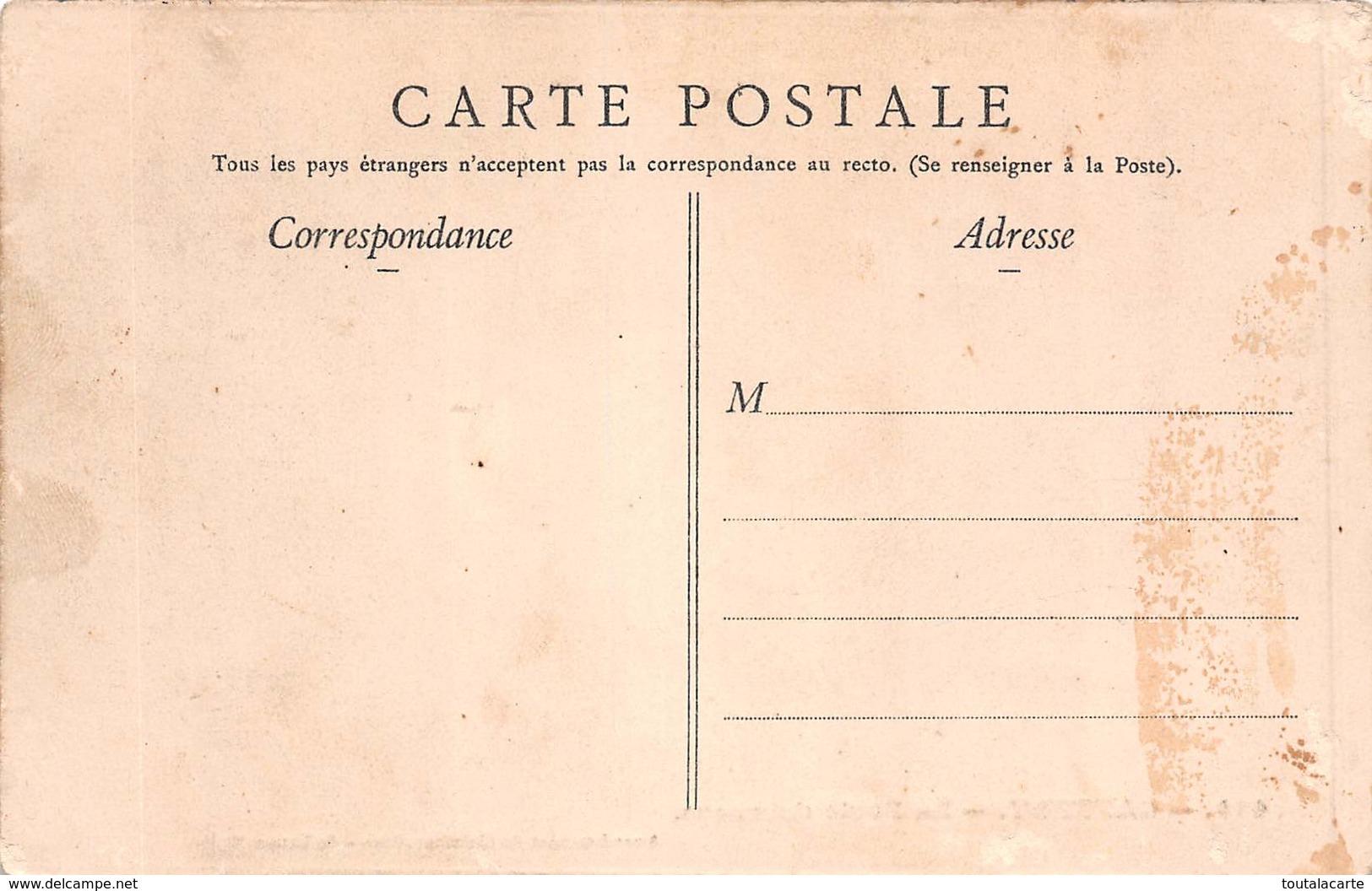 CPA 60 CAUFFRY LA POSTE HAMEAU - France