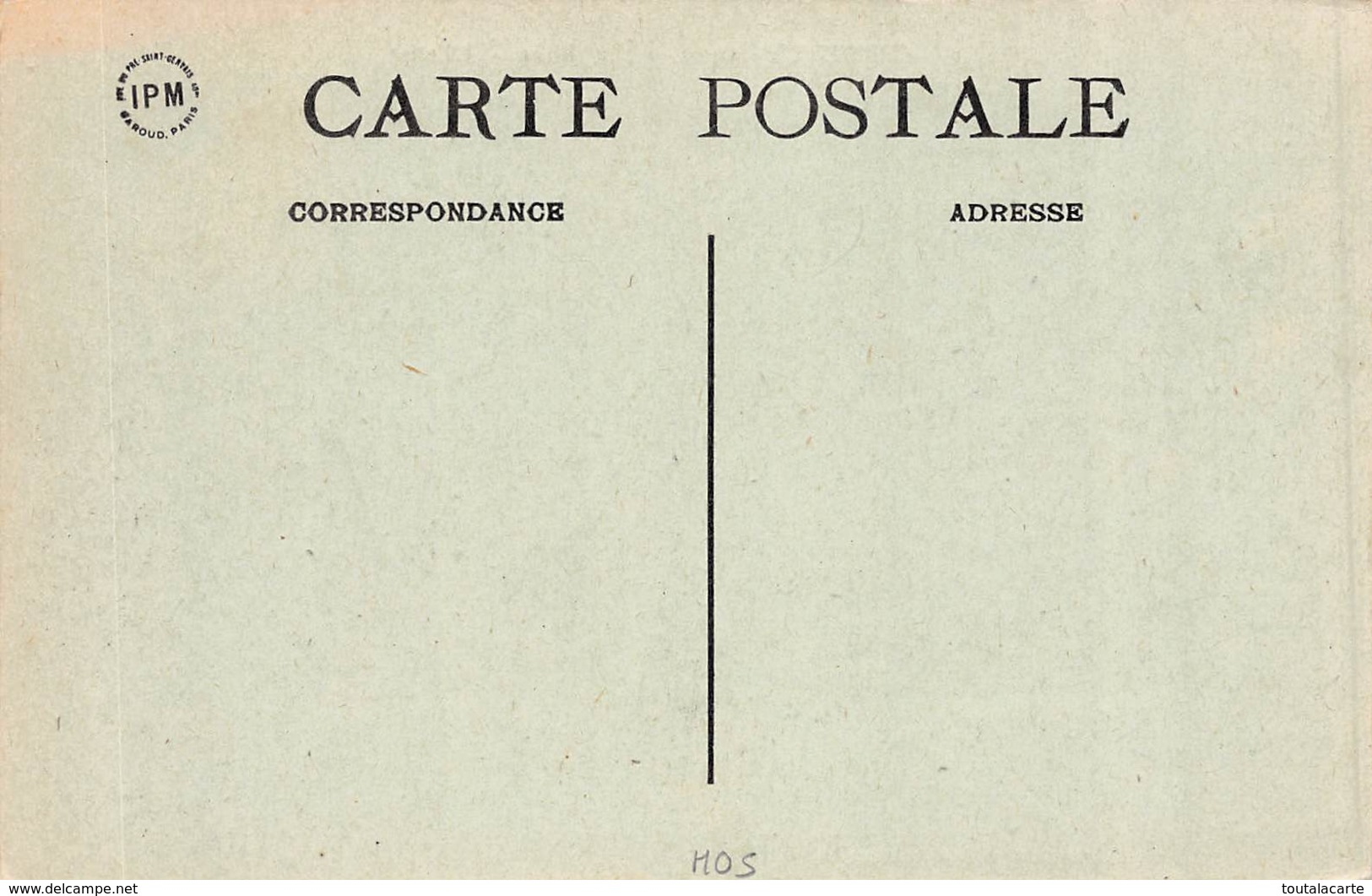 CPA 60 CUVILLY LA PLACE L EGLISE - France