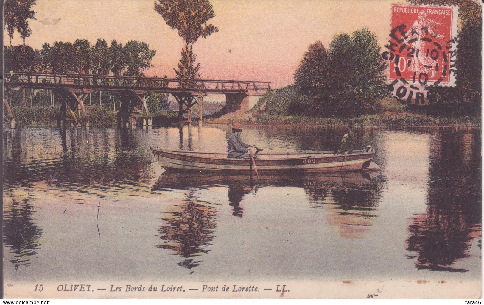CPA - 15. OLIVET Les Bords De Loire, Pont De Lorette - Autres Communes