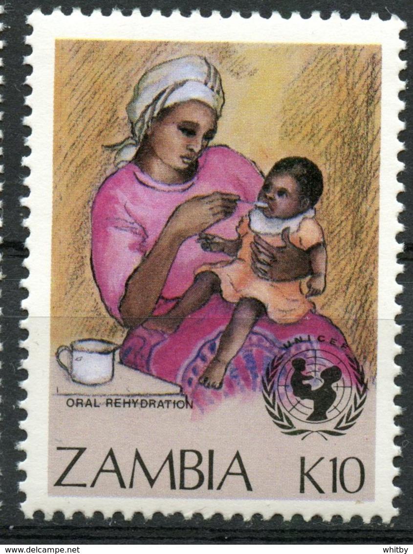 Zambia 1988 K10  Child Survival Issue #443 - Zambia (1965-...)