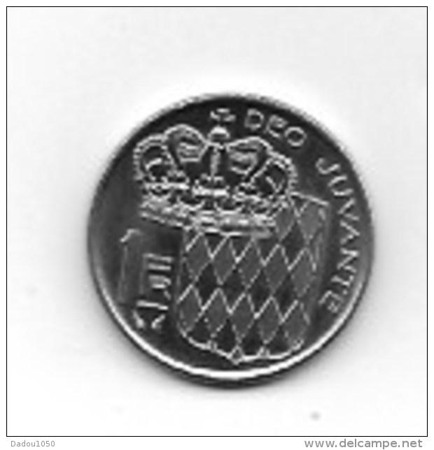Piece  1 Franc Rainier III 1979 - Monaco