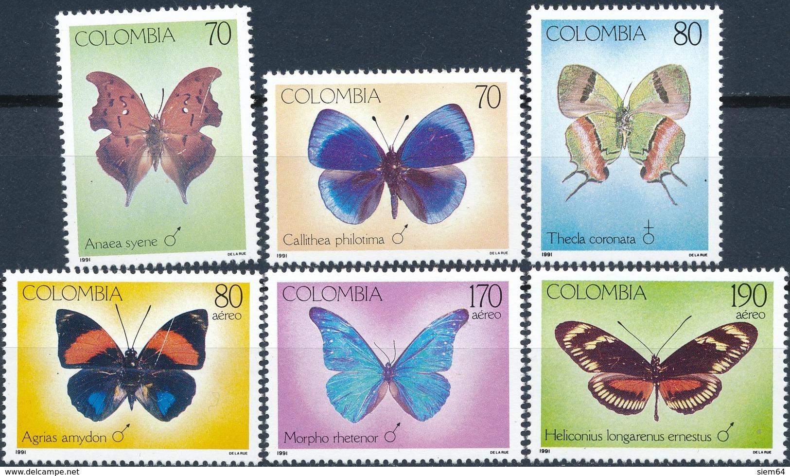Columbia  Butterflies - Vlinders