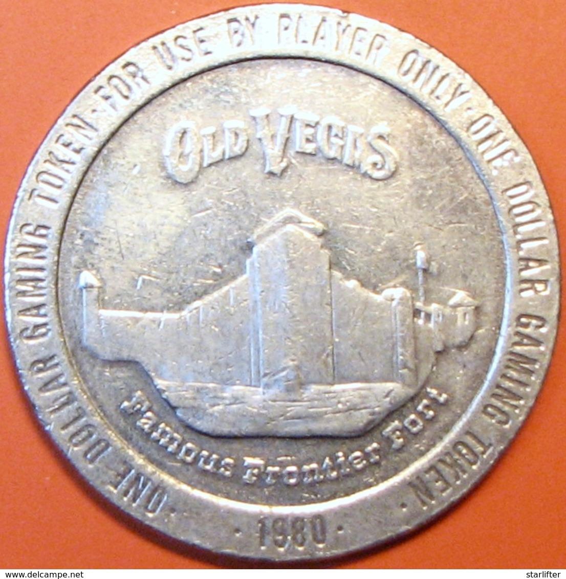 $1 Casino Token. Old Vegas, Las Vegas, NV. 1980. D67. - Casino