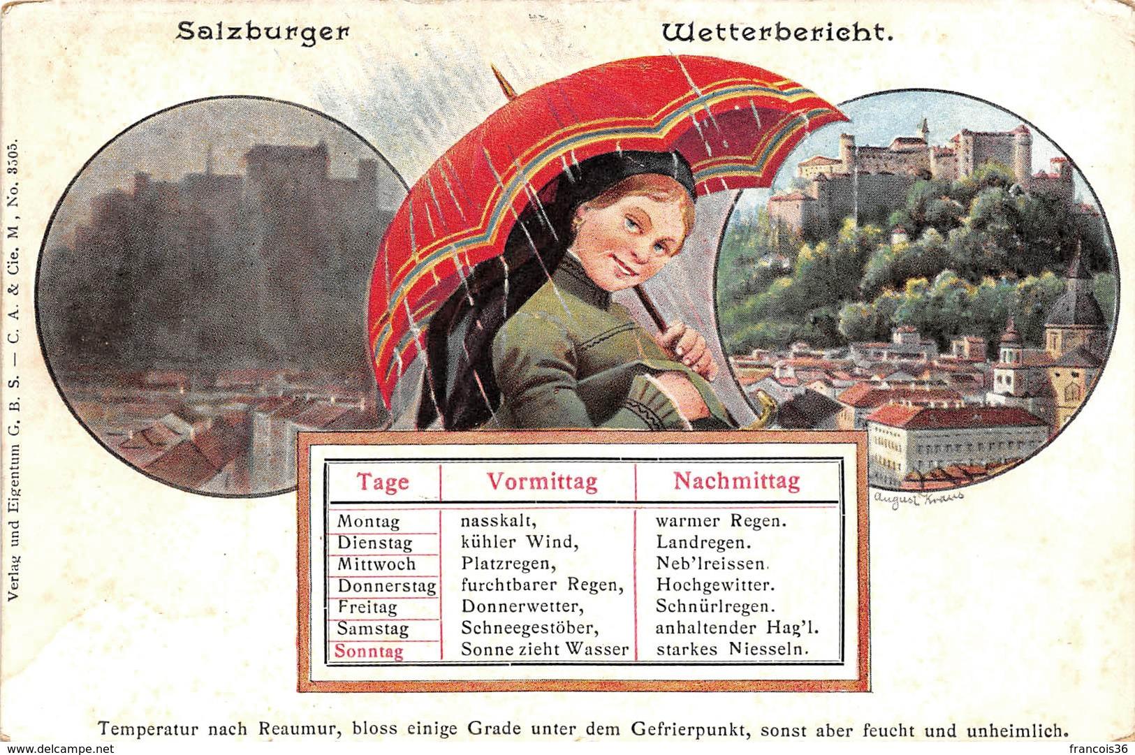 Autriche - Salzburger Wetterbericht - Salzburg - Non Classés