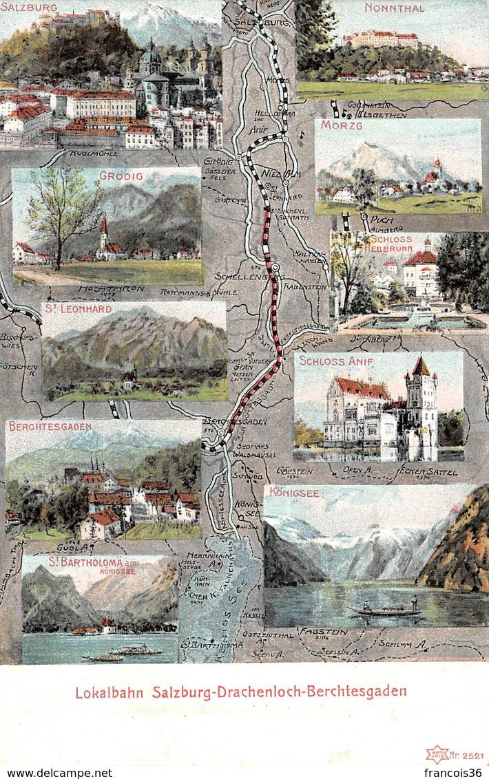 Autriche - Lokalbahn Salzburg Drachenloch Berchtesgaden - Autriche