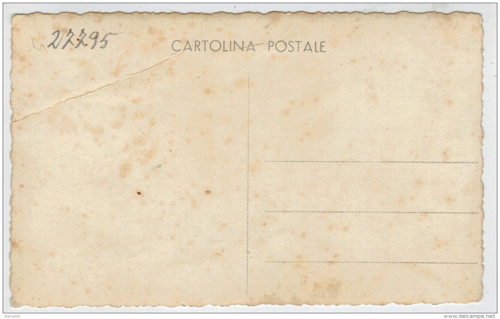 FOTO-CARTOLINA    CARABINIERE        2 SCAN   (VIAGGIATA) - Personaggi