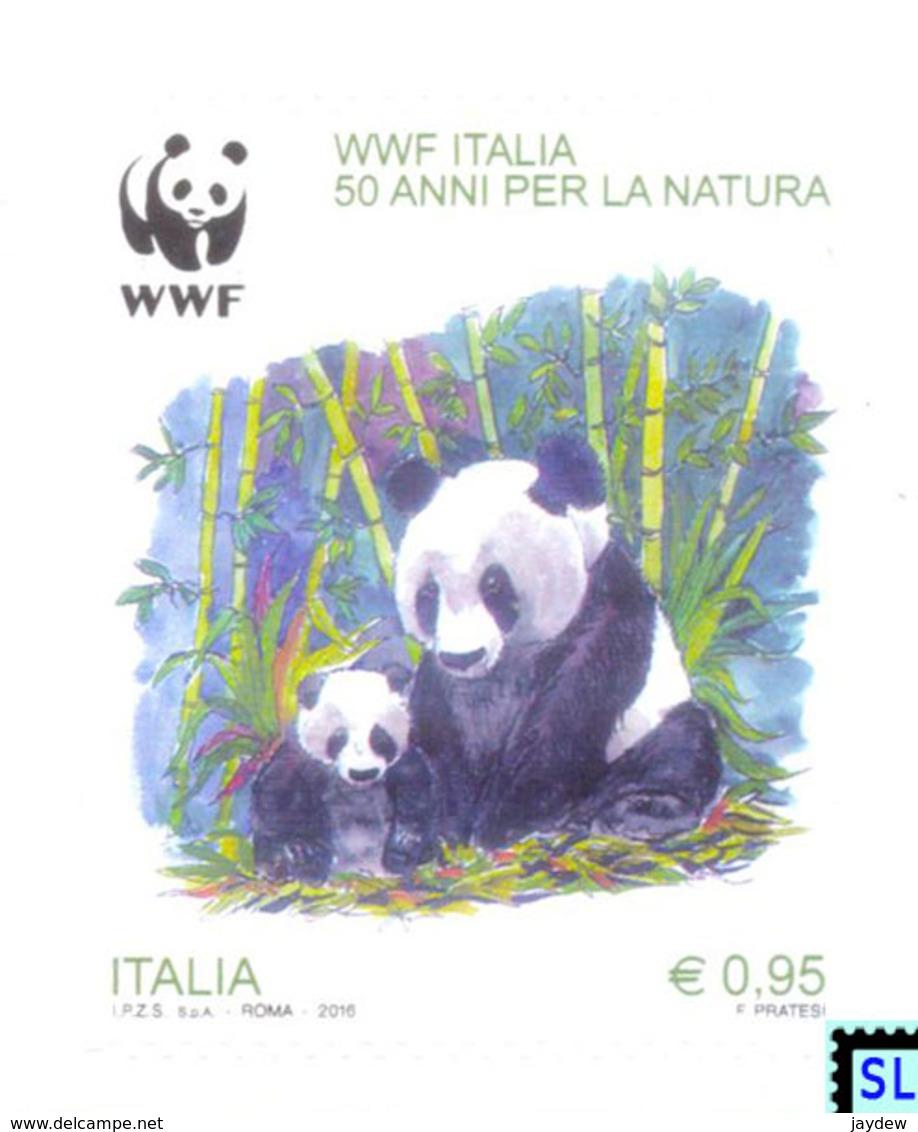 Italy Stamps 2016, Pandas, WWF, MNH - Italia
