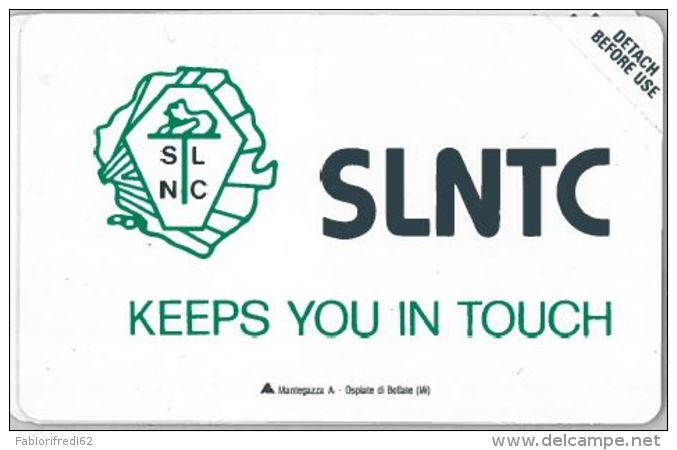 SCHEDA TELEFONICA URMET SIERRA LEONE (J60.3 - Sierra Leone