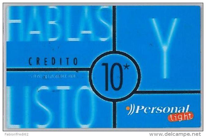 PREPAID PHONE CARD ARGENTINA (U.43.3 - Argentina
