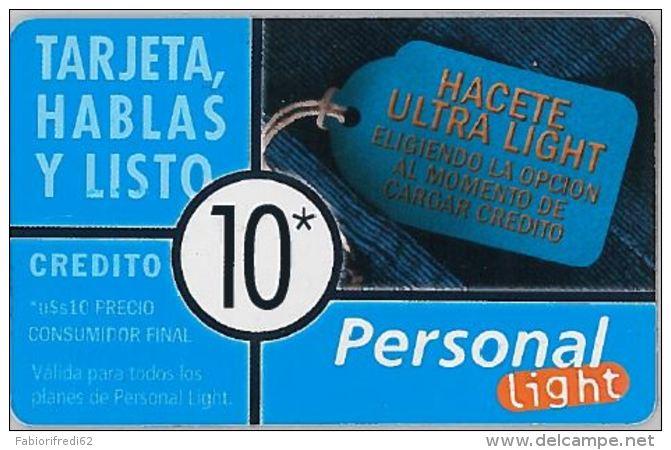 PREPAID PHONE CARD ARGENTINA (U.43.4 - Argentina