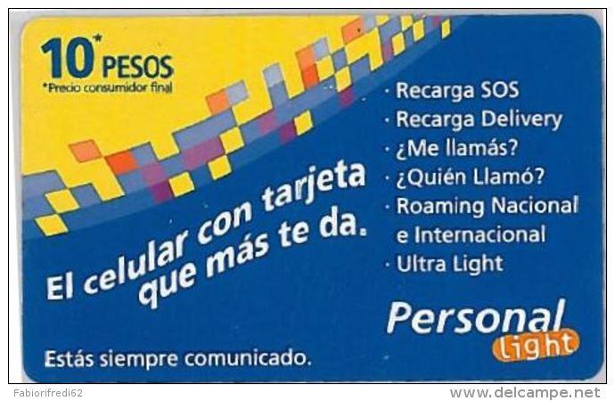 PREPAID PHONE CARD ARGENTINA (U.43.7 - Argentina