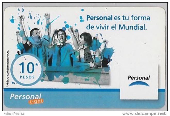 PREPAID PHONE CARD ARGENTINA (U.46.6 - Argentina