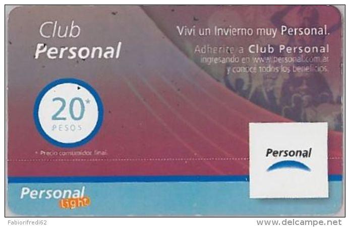 PREPAID PHONE CARD ARGENTINA (U.50.4 - Argentina