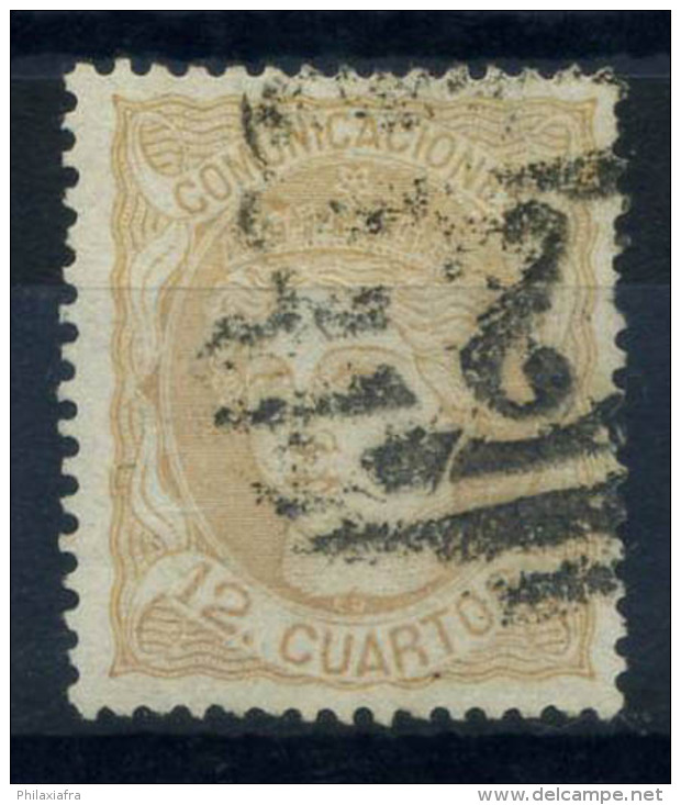 Espagne 1870 Mi. 107 Oblitéré 100% 12 Cs, Espagne - Used Stamps