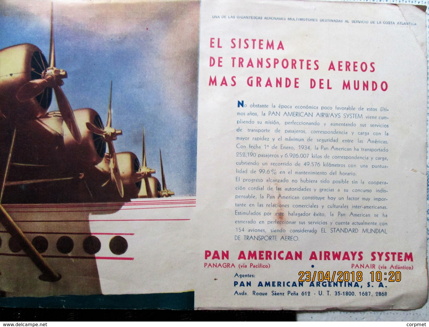 AVIACION - AVIATION AERONAUTIQUE - 1933 NOCIONES ELEMENTALES DE AVIACION - Ad De AEROPOSTA- CONDOR - AIR FRANCE - SHELL - Aardrijkskunde & Reizen