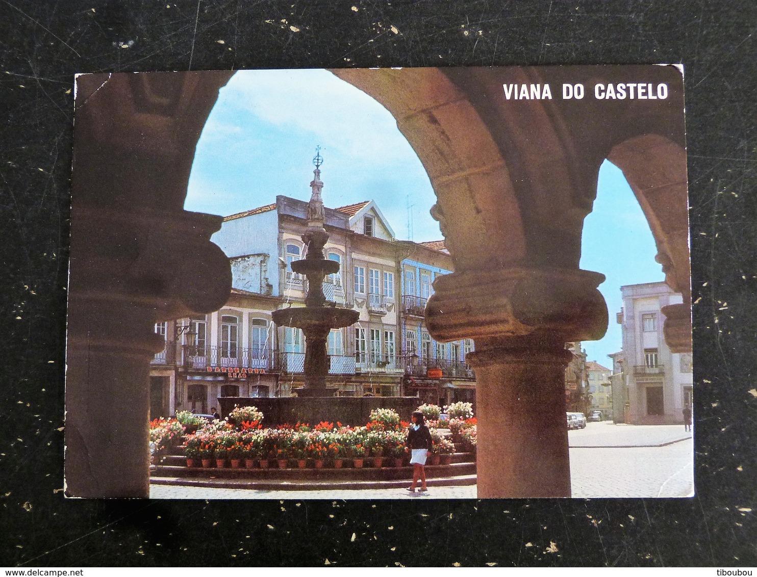 LETTRE PORTUGAL AVEC YT 1408 1371 1411 MEDECINE TYPOGRAPHIE TRANSPORT CAMION - VIANA DO CASTELO - 1910-... République