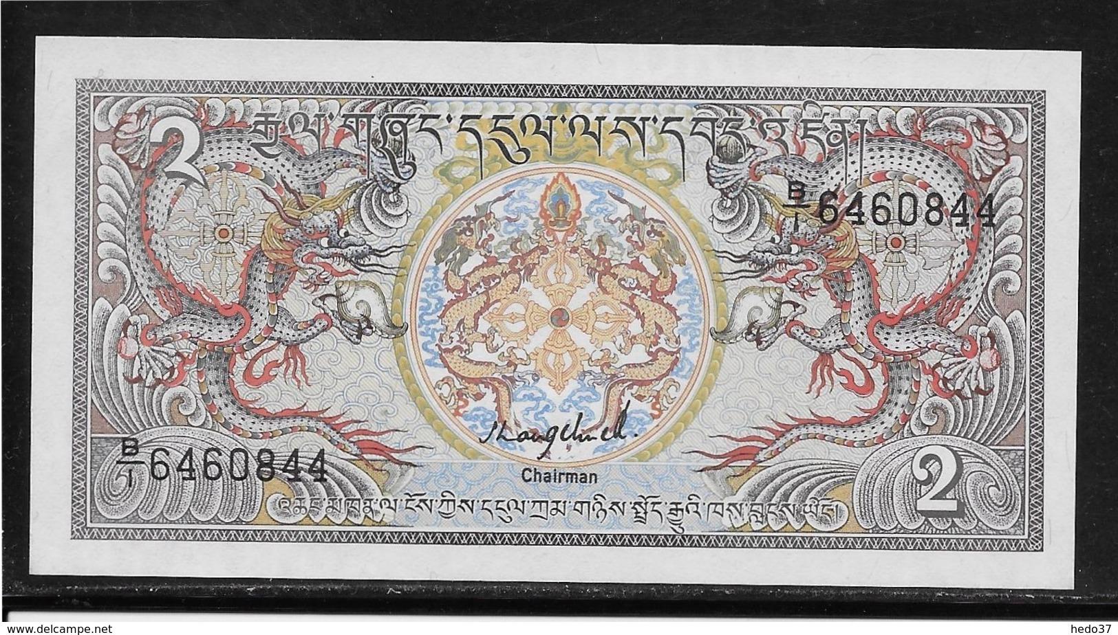 Bhoutan - 2 Ngultrum - Pick N° 13 - NEUF - Bhoutan
