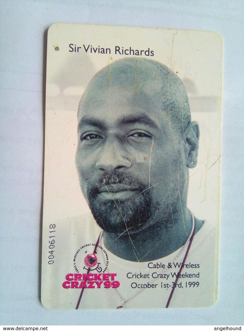 Sir Vivian Richards CI$10 - Cayman Islands