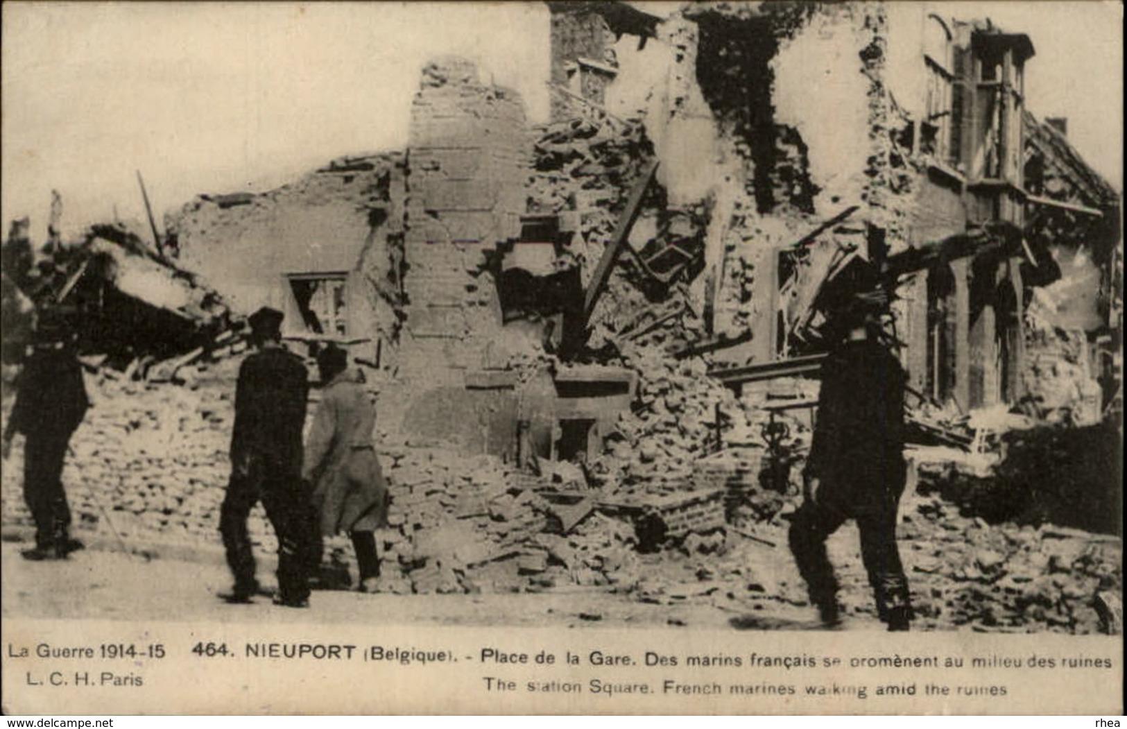 BELGIQUE - NIEUPORT - Ruines - Guerre 14-18 - Nieuwpoort