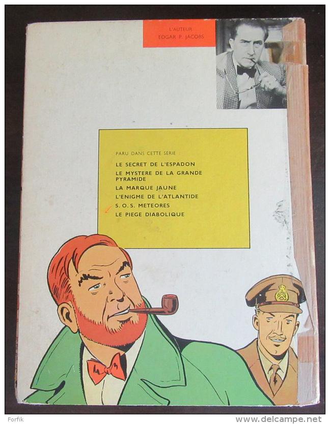 BD E. P. Jacobs - Blake Et Mortimer Le Mystère De La Grande Pyramide Intégrale - Edition Originale (EO) 1959 - Etat OK - Jacobs E.P.